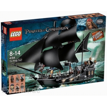 LEGO 4184 Pirates of the Caribbean TM De Black Pearl