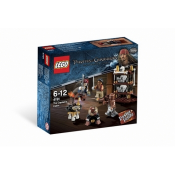 LEGO 4191 Pirates of the Caribbean TM De hut van de kapitein