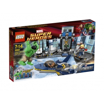LEGO 6868 Super Heroes Hulk's Helitransport ontsnapping