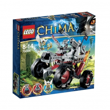 LEGO 70004 Legends of Chima Wakz' Pack Tracker