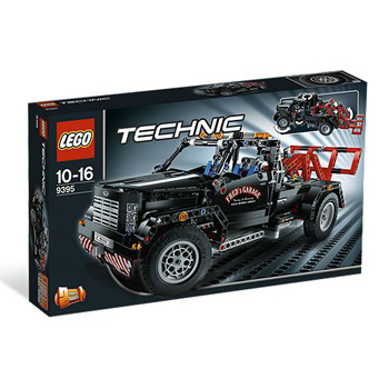LEGO 9395 Technic Pick-up sleepwagen