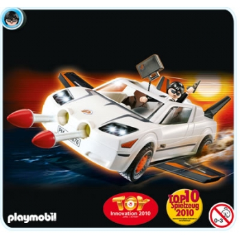 Playmobil Agents Super Racer 4876