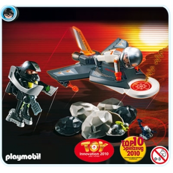 Playmobil Agents Detector Jet 4877