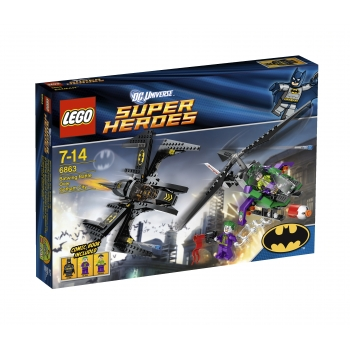 LEGO 6863 Super Heroes Batwing Battle Over Gotham City