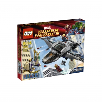 LEGO 6869 Super Heroes Quinjet luchtduel