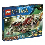 LEGO 70006 Legends of Chima Cragger's Command Ship