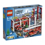 LEGO 7208 City Brandweerstation