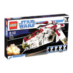LEGO 7676 Star Wars Republic Attack Gunship