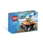 LEGO 7736 City Kustwachtquad